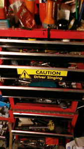 Tool chest&tools
