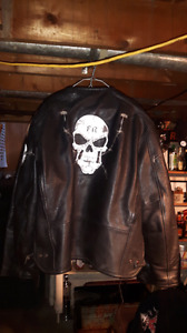Harley Davidson jackets and a couple others