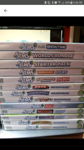 The Sims 3 Expansion/Stuff Pack Game Lot! Base Game Included!!