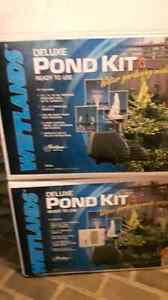 NEW PRICE-2 DELUXE POND KITS (complete) Kingston Kingston Area image 2