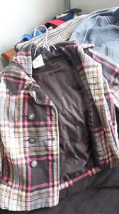Girls plaid spring Jacket