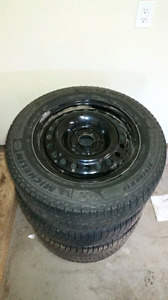 215/60/r16 Michelin X-Ice Xi3 Winter Tires and Rims
