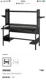 Gaming Desk - IKEA 'Fredde'