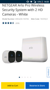 Arlo pro netgear wireless security system