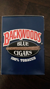 Rare backwood cigars BLUE VANILLA