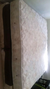 King Size bed with box (Moving Sale)