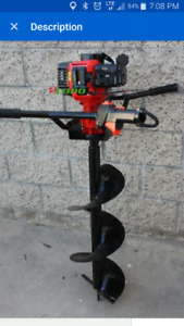 Earth Auger post hole digger 4 rent