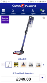 SHARK Cordless Vacuum Cleaner with two batteries