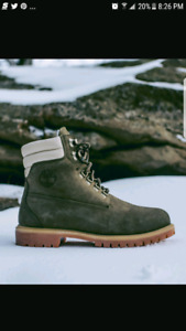 KITH TIMBERLAND BOOTS SIZE 9