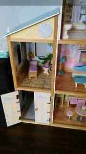 Immense maison de barbie