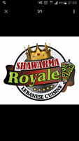Shawarma Royale Orleans hiring a chef  with experience