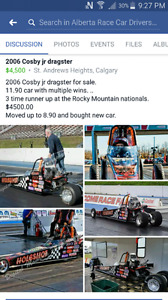 2006 Cosby jr dragster