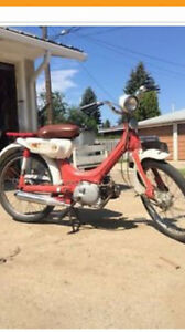 Vintage Honda moped