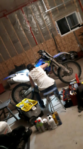 Dirt bike/atv maintenance and repair