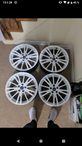 wheels and tiers 5x100 (17r/215/55)