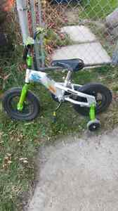 Buzz Lightyear Bicycle with Training Wheels