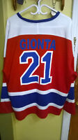 $$$ - BRIAN - GIONTA - # 21 - MTL - CANADIANS - JERSEY - XL-$$$