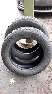 Two Goodyear Nordic Winter Tires 205/55 R16