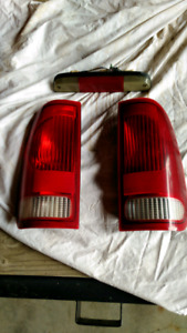 2003 Ford Superduty F350 F250 rear and cargo light set