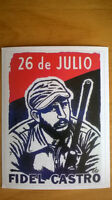 Ensemble de cartes postales de la révolution cubaine