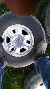 6 bolt gmc Sierra rims