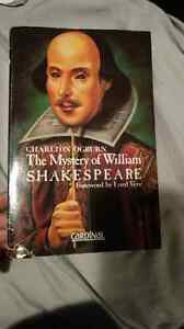 The mystery of William Shakespeare