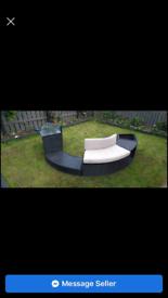 Hot tub rattan furniture brand new