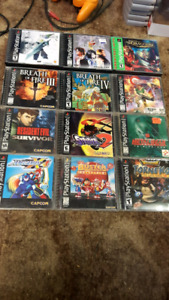 Lots of rare PS1 games and guides, open to trades