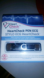 HEART CHECK PEN NEVER USED/OPENED!