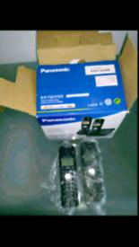 Panasonic KX-TG7212E digital cordless phone set
