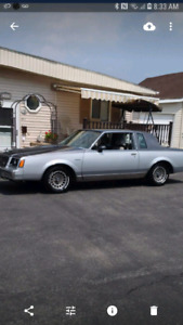 1982 Buick regal turbo  sport coupe