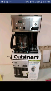 Brand new cuisinart 12 cup programmable coffee maker +hot water