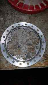 Rear rotor for a cr 125r