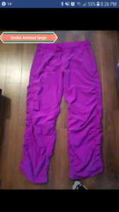 Under Armour pants size large