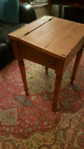 Antique lift top desk