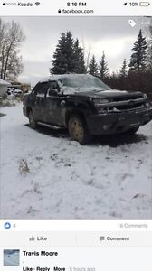 2003 Chevy avalanche