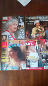 English Royal Family Books and Magazines