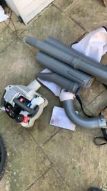 Ryobi RBL26bv petrol leaf blower/vacuum