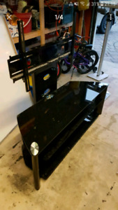 """Corner TV stand - Holds up to 70"""""""