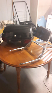 Honda cb650c luggage rack and compartment