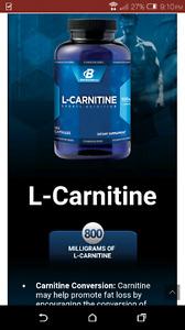 CARNIITINE. 3. Brand new bottles