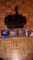 Ps3 120gb in mint condition+5 games