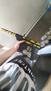 Ios hopper and o2 tank for my paint ball gun
