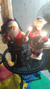 Santa clause and misses clause decoration
