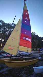 Hobie 16 with trailer for sale