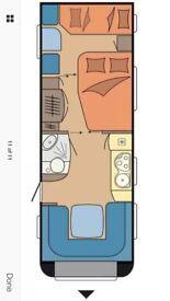 Hobby caravan for sale