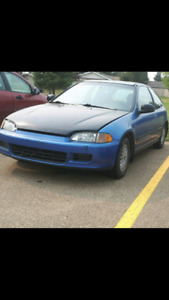 92 civic si best offer can have her read all ad