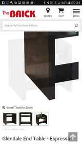Glendale end table matching coffee table  available to purchase