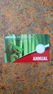 USA Annual National Parks Pass