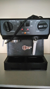 Espresso/latte machine